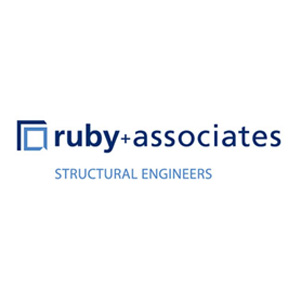 Image result for ruby + associates structural engineers logo
